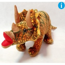 Dinozaur triceratops 50cm