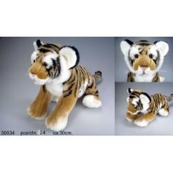 Tygrys brązowy 30cm