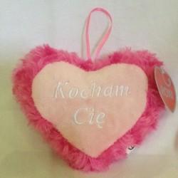serduszko różowe 13cm