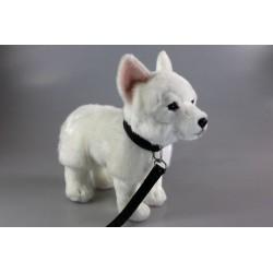 Pies owczarek biały 23cm