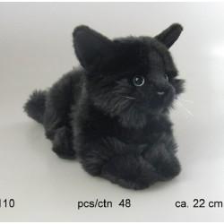 Kot czarny 22cm