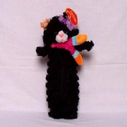 Kot czarny piórnik 24cm