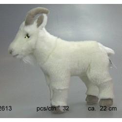 Koza biała 22cm
