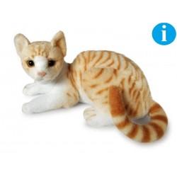 Kot biało-brązowy 30cm