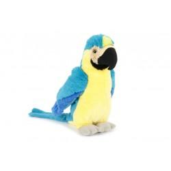 Papuga Ara niebieska 33 cm