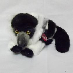 Lemur czarno-biały 28cm