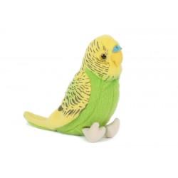 papuga żółto zielona 13cm