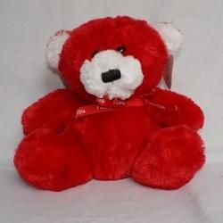 miś czerwony 24cm