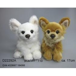 Chihuahua 2asort. 17cm