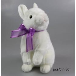 Króliczek biały 25cm