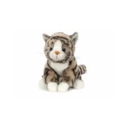 Kot pręgowany szary 20cm