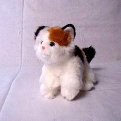 Kot calico z dźwiękiem 24cm