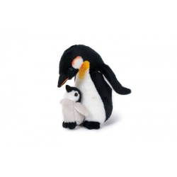 Pingwin z małym 20cm