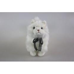 Kot biały 28cm