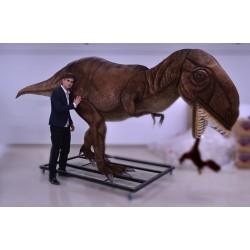 Dinozaur T-rex z małym 350cm