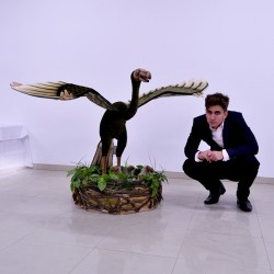 Dinozaur archaeopteryx 170cm