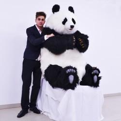 Panda siedząca 130cm